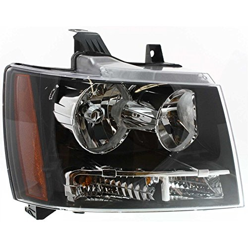 Evan-Fischer EVA13572020140 Headlight for TAHOE 07-14 Composite Assembly Halogen With Bulb(s) Right Side