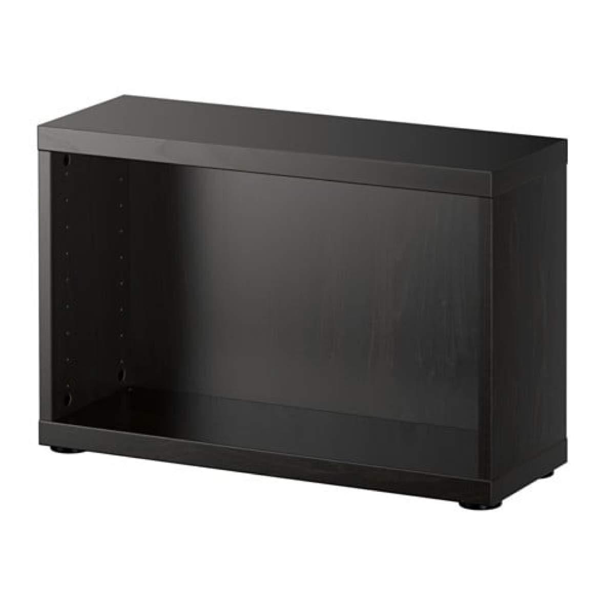 Amazoncom Ikea Besta Frame Black Brown 60245957 Size 23