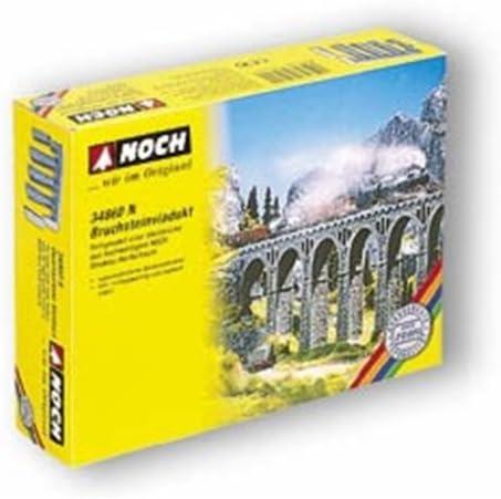 Noch 34860 Quarry Stone Viaduct N Scale  Model Kit