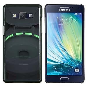 YiPhone /// Prima de resorte delgada de la cubierta del caso de Shell Armor - Aseo Verde luz de neón Tazón - Samsung Galaxy A5 A5000