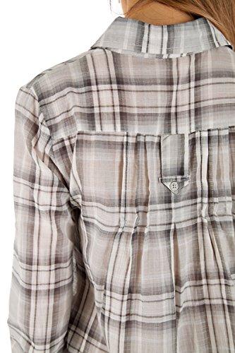 bestyledberlin - Camisas - corte imperio - Básico - Clásico - Manga Larga - para mujer negro