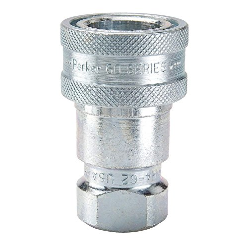 parker-hannifin-h2-62-series-60-steel-multi-purpose-quick-coupler-with-female-pipe-thread-iso-7241-s