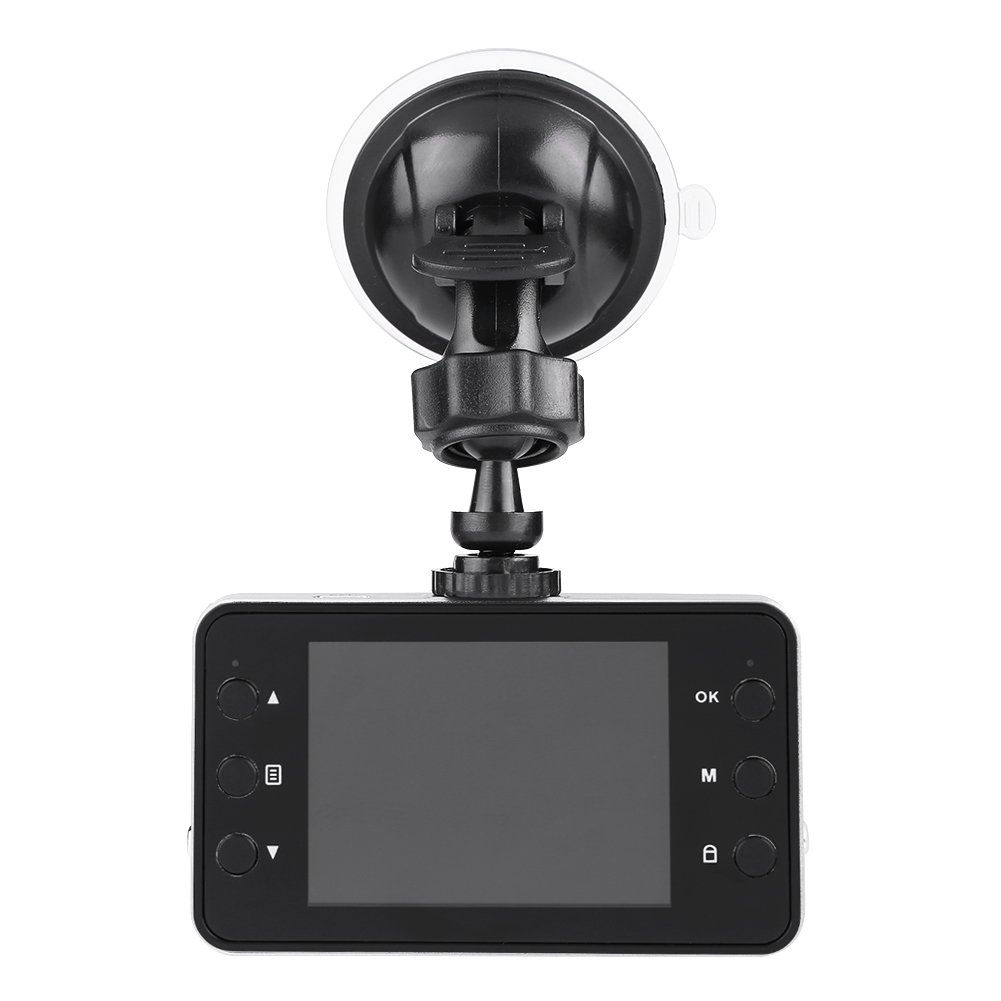 Dewin Car DVR - 2.4Inch LCD 1080P HD Car DVR Dash Camera, Video Recorder Night Vision K6000
