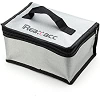 Quickbuying Realacc Fire Retardant Lipo Battery Bag(220x155x115mm)With Handle