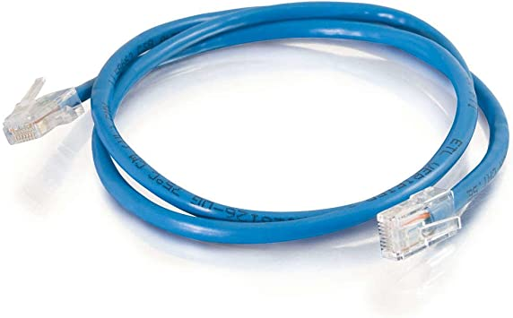 50 Feet, 15.24 Meters Non-Booted Unshielded Ethernet Network Patch Cable C2G 04102 Cat6 Cable Blue