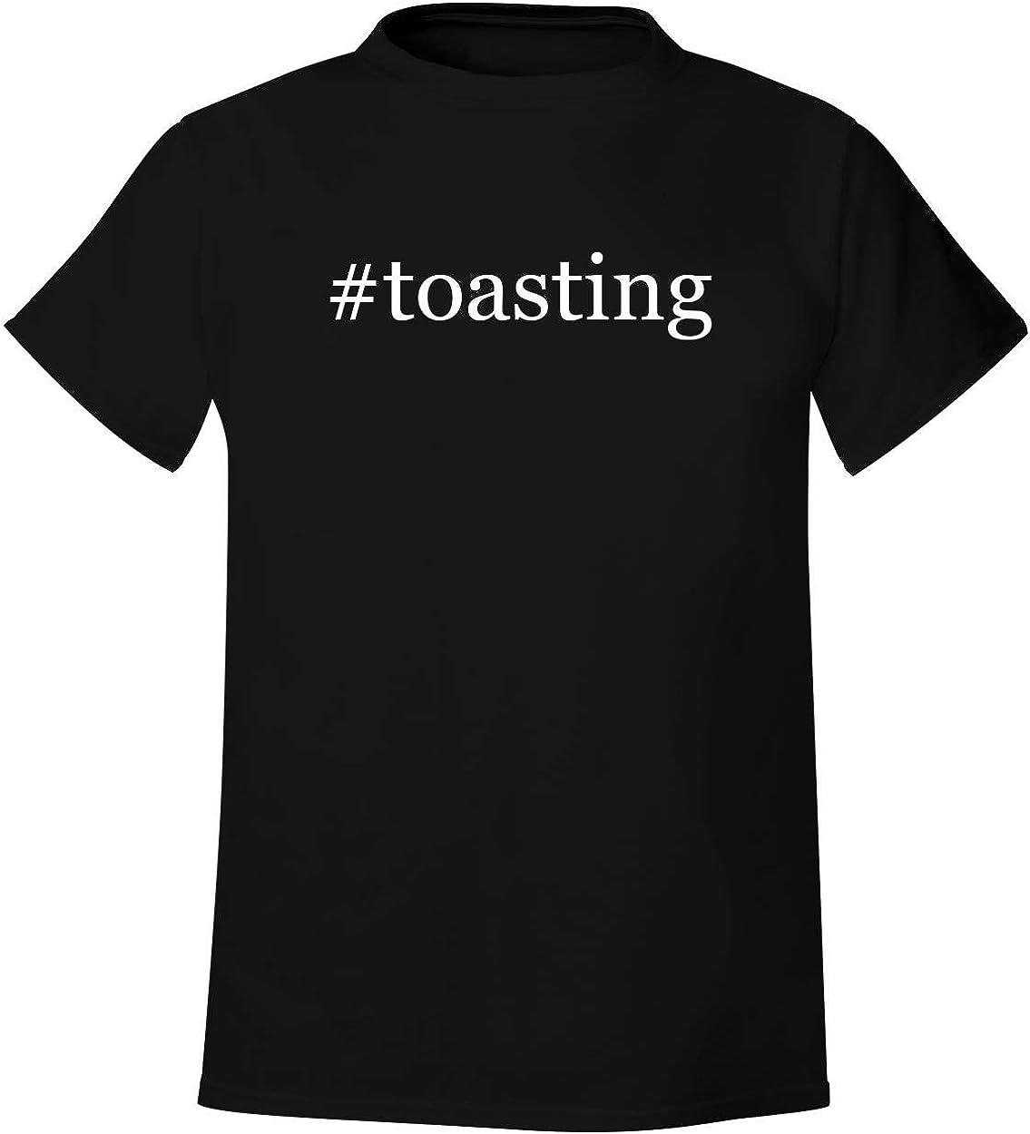 #toasting - Men's Hashtag Soft & Comfortable T-Shirt