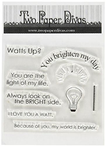 two-paper-divas-c215-watts-up-stamps-6-by-45-clear