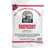 Claey's, Old Fashioned Hard Candy Raspberry, 6 Ounce Bag