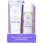 The Honest Company 2 Piece Dreamy Lavender Shampoo with Body Wash & Lotion Bundle, 1.5 Pound