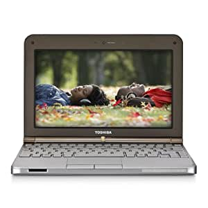 Toshiba Mini NB205-N325BN 10.1-Inch Sable Brown Netbook - 9 Hours of Battery Life (Windows 7 Starter)