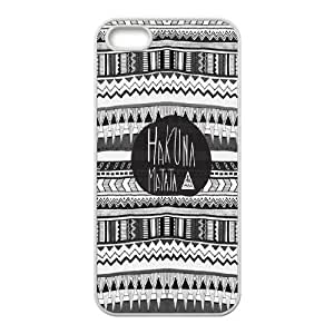 Cheap Hakuna Matata quotes series protective case cover For Apple Iphone 5 5S CasesSHIKAI694468