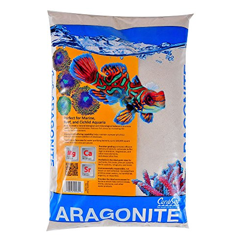 Carib Sea ACS00930 Aragamax Sand for Aquarium, 30-Pound by Carib Sea