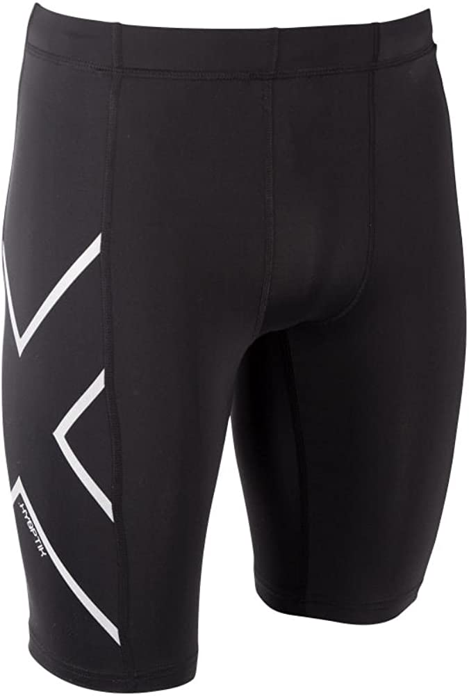 2XU Mens Ma3519 Hyoptik Compression Shorts