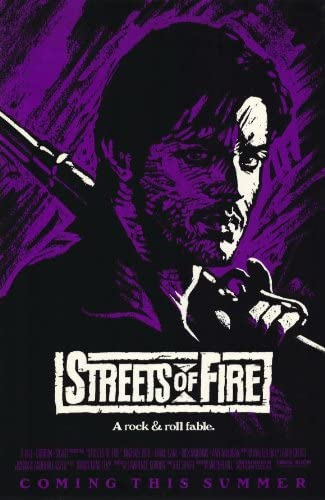 Streets of Fire Movie POSTER 11 x 17 Rick Moranis Diane Lane Michael Paré A