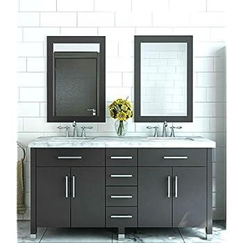 JWH Living Rana 59 In. Double Sink Bathroom Vanity