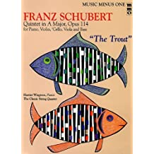 Music Minus One Bass: The Trout Franz Schubert Quintet in A major, Opus 114 (Music Minus One (Numbered)) by Franz Schubert (2005-12-02)