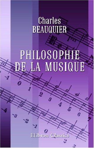 Philosophie de la musique (French Edition) ebook