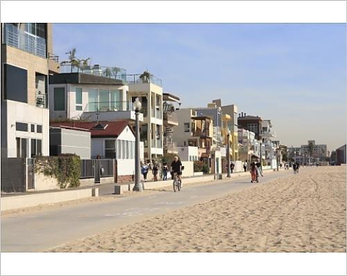 Photographic Print - Monica Santa Promenade In