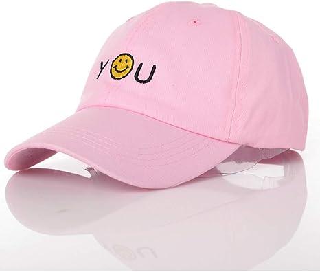 UVYANG Béisbol Mans Hat para Mujer Hip Hop Gorras para Mujer Gorra ...