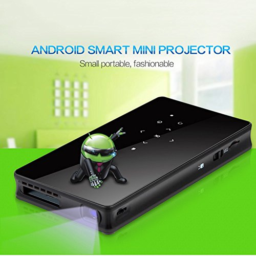 Mini wifi projector rofisa protable led multimedia built for Mini projector iphone compatible