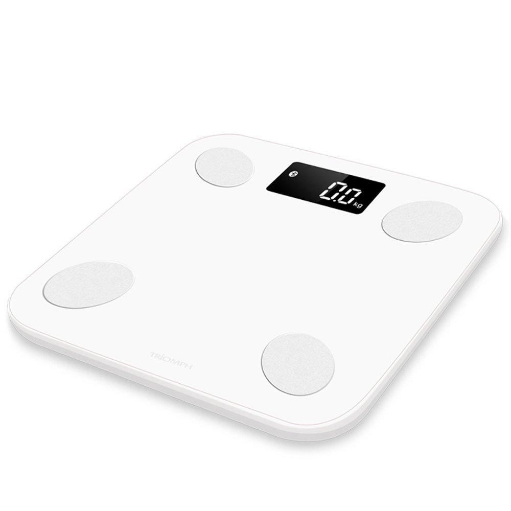 MUTANG Báscula electrónica Báscula Digital de Alta precisión Slim Slim Bluetooth con tecnología Step-on Balanza de baño Báscula de Peso: Amazon.es