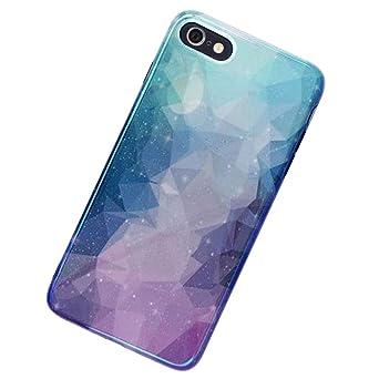 MoreChioce kompatibel mit iPhone 6S Hülle,kompatibel mit iPhone 6 Hülle Glitzer, Kreativ 3D Bling Strass Weiche Silikon Handy