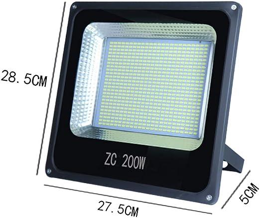 Foco LED Proyector Luz De Inundación Luz De Seguridad Para ...