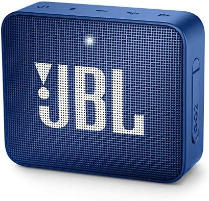 JBL Go 2 Portable Bluetooth Speaker – Blue Renewed