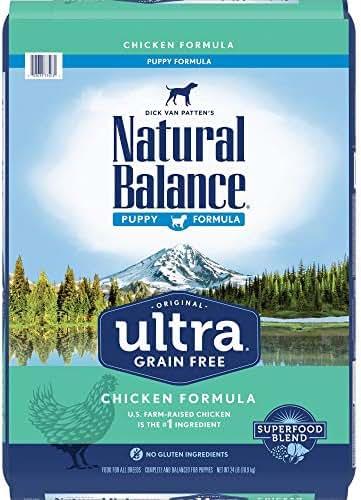 Dog Food: Natural Balance Original Ultra Grain Free Puppy