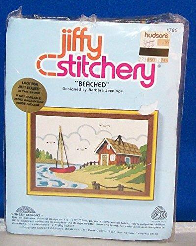 Jiffy Kit Cross Counted Stitch (Vintage 1980 Jiffy