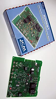 ICM Controls ICM281 Furnace Control Replacement for OEM Models Including Carrier CES0110057-xx Series Control Boards