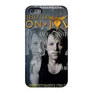 Iphone 6 HSI13168lmrU Support Personal Customs Trendy Bon Jovi Skin Shock-Absorbing Cell-phone Hard Covers -SherriFakhry