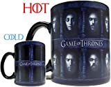 Many Faced God Heat Sensitive Color Changing Mug/Cup - 11oz Ceramic Inspired by Game Of Thrones by GotMugs