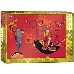 Eurographics 01495 Kandinsky Con E Contra Puzzle 1000 Pezzi