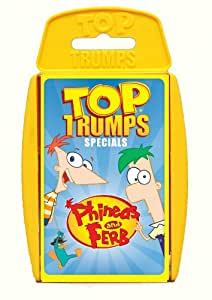 Winning Moves Top Trumps Phineas & Ferb