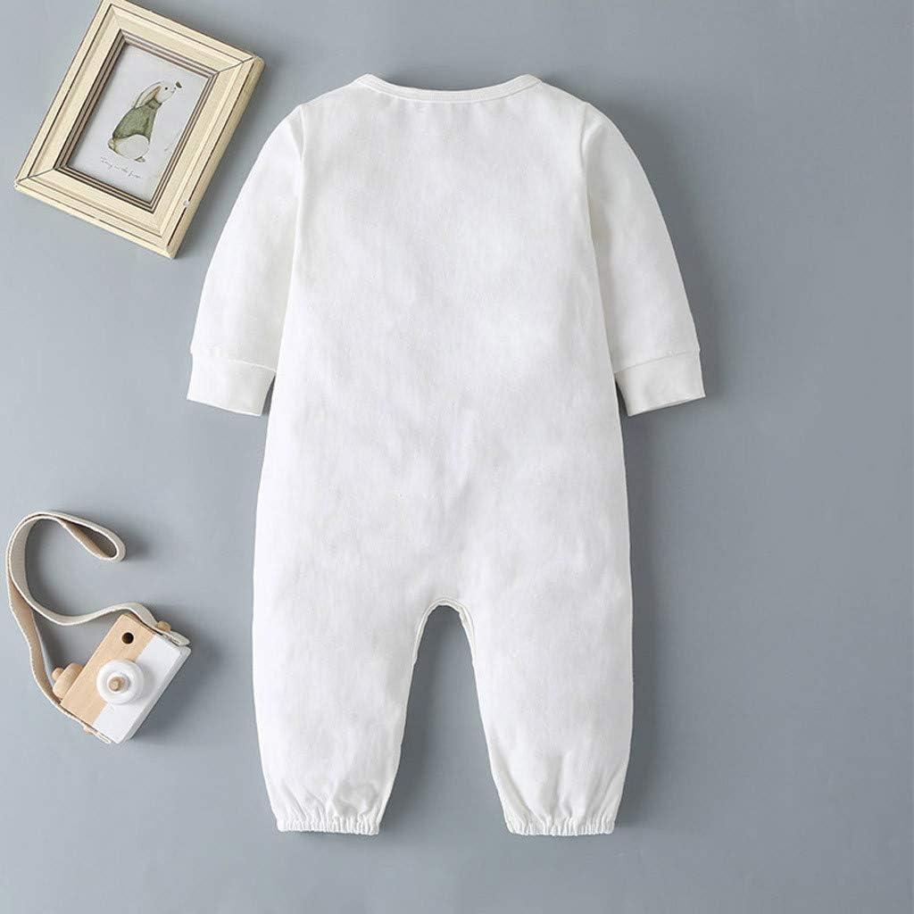 Strampler Babykleidung Schlafstrampler Strampler f/ür Neugeborenes Baby-Jungen Schlafstrampler Schlafanzug Baby-Pyjama Bekleidung Sayla Babykleidung Set 3-24 Monate