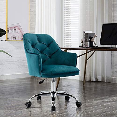 Henf Velvet Accent Chair