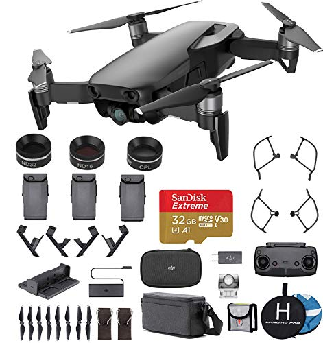 f514d3f8a3c DJI Mavic Air Fly More Combo (Onyx Black) Ultimate Bundle.