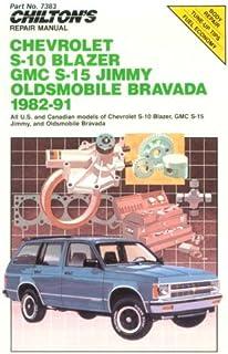 chilton s repair manual chevrolet s 10 gmc s 15 pick ups 1982 91 rh amazon com 2002 Chevrolet Blazer chevrolet blazer 1999 repair manual