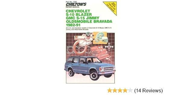 chilton s repair manual chevy s 10 blazer gmc s 15 jimmy olds rh amazon com Rims for 96 GMC Jimmy 1996 GMC Jimmy Recall