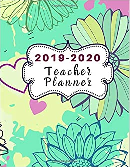 2019-2020 Teacher Planner Plazi: Dated Lesson Plan Book ...