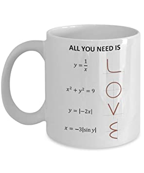 15oz You Mug Math Gift Love Equation Is All Coffee Need 5q4A3LRj