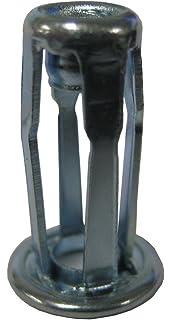 Grip Range .156-.375, . Pack of 10 RN-3118-3 Rubber Well NUT Threaded Insert 5//16-18