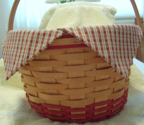 Longaberger 1999 Homestead Apple Basket Combo