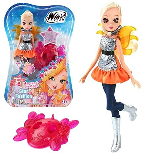 Rainbow Internazionale Winx Club Doll Stella Star Fashion Figure 28cm New Tv Series 8 +3 Years