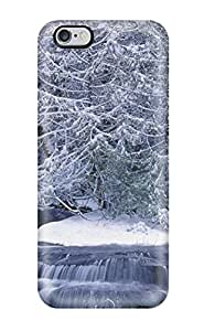 Hot Tpu Cover Case For Iphone/ 6 Plus Case Cover Skin - Snow S