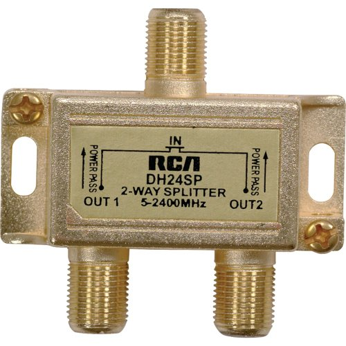 RCA DH24SPF Two Way Splitter