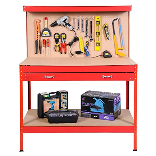 Mdf Garage Cabinets - Good concept Red Tool Storage Workshop Steel Garage Table Bench Work Drawer W Workbench Cabinet Peg Frame Rolling Cart Drawers Heavy Duty Utility
