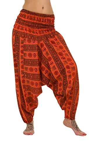 ThaiUK - Pantalón - para mujer naranja