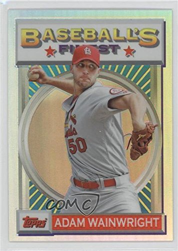 Adam Wainwright #19/25 (Baseball Card) 2013 Topps Finest ...